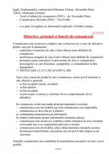 Comunicare - Obiective si functii - Pagina 2