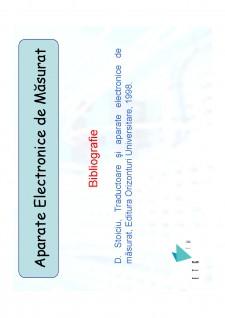 Aparate electronice de măsurat - Pagina 1