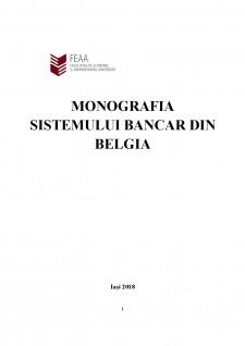 Monografia sistemului bancar din Belgia - Pagina 1