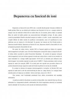 Depunerea cu fascicul de ioni - Pagina 3