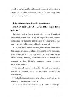 Metodica predării fotbalului - Pagina 5