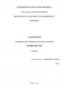 Sisteme informatice financiar-contabile - Pagina 1