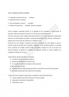 Gestiunea activelor circulante - Pagina 1