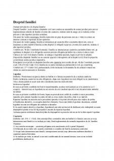 Dreptul familiei - Pagina 1