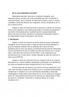 Aliaje cu efect de memoria formei nitinol (Ni-Ti) - Pagina 2