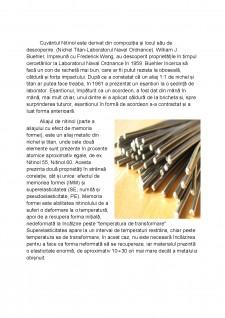 Aliaje cu efect de memoria formei nitinol (Ni-Ti) - Pagina 3