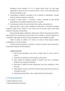 Piata bursiera - definitie, caracteristici, functii - Pagina 3