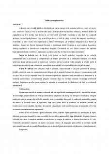 Bolile infectioase ale rumegatoarelor - Pagina 1