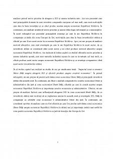 Investiții străine directe în Republica Moldova - Studiu de caz - Pagina 4