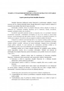 Politici și practici contabile privind Trezoreria - studiu de caz pentru o societate din România - Pagina 4
