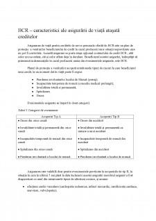Asigurări de viață în contracte de creditare - comparație BCR - BRD - Pagina 4