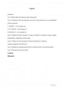 Analiza comparativă a site-urilor de produse electronice Newegg, PC Garage și MediaDOT - Pagina 2