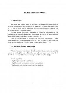 Filtre percolatoare - Pagina 1