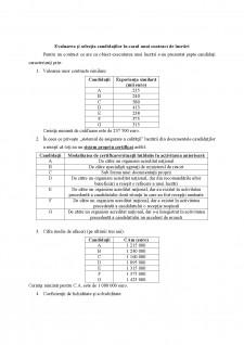 Evaluarea și selecția candidaților în cazul unui contract de produse (de furnizare) - Pagina 5