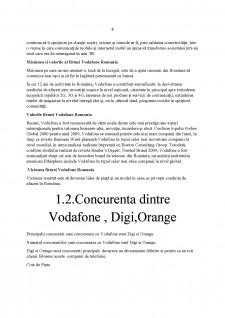 Mixul de Marketing în cadrul SC Vodafone SA - Pagina 4