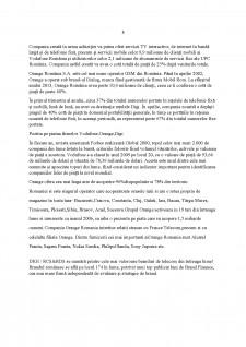 Mixul de Marketing în cadrul SC Vodafone SA - Pagina 5