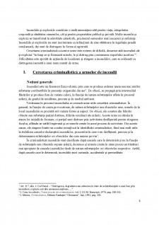 Cercetarea criminalistică a urmelor de incendii și de explozii - Pagina 3