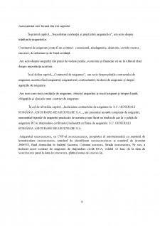 Contract de asigurare - Pagina 3