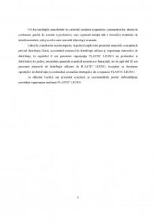 Strategii de distribuție fizică, logistică, adoptate de organizație - Pagina 5