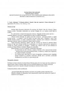 Jurisprudența internațională - Pagina 1