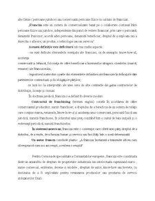 Contractul de Franchising - Pagina 3
