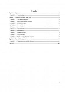 Elemente tehnice ale asigurărilor cuprinse în contractele de asigurări - Pagina 2