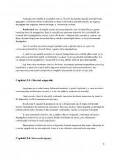 Elemente tehnice ale asigurărilor cuprinse în contractele de asigurări - Pagina 5