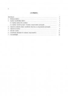 Analiza Componentelor Principale - Studiu de caz - legătura dintre forța de muncă, prețuri și cercetare-dezvoltare și inovație - Pagina 2