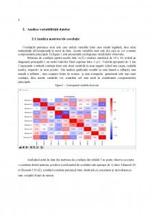 Analiza Componentelor Principale - Studiu de caz - legătura dintre forța de muncă, prețuri și cercetare-dezvoltare și inovație - Pagina 5
