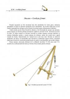 Evoluția formei la macara - Pagina 1