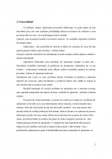Bazele optimizării proceselor tehnologice - Pagina 2
