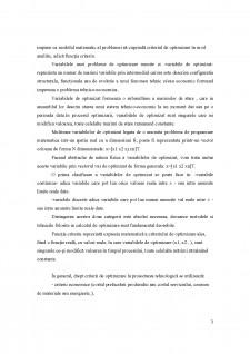 Bazele optimizării proceselor tehnologice - Pagina 3