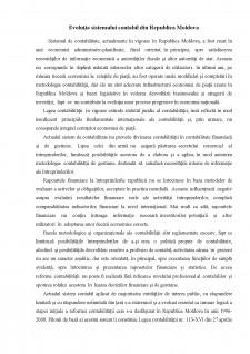 Poziția Republicii Moldova în candrul armonizării și convergenței contabile internaționale - Pagina 4