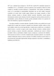 Poziția Republicii Moldova în candrul armonizării și convergenței contabile internaționale - Pagina 5