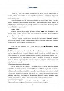 Frauda în asigurări și implicațiile economico-sociale ale acesteia - Pagina 3