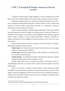 Frauda în asigurări și implicațiile economico-sociale ale acesteia - Pagina 4