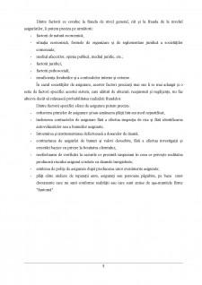 Frauda în asigurări și implicațiile economico-sociale ale acesteia - Pagina 5
