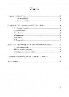 Analiza sistemului logistic al întreprinderii SC Arc-Food 2015 SRL-D - Pagina 2
