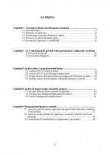 Management financiar contabil - SC Bacem Construct SRL - Pagina 2