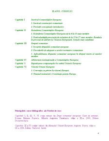 Drept Comunitar și Instituții Comunitare - Pagina 4