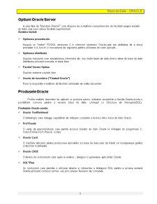 Baze de Date - Oracle - Pagina 2