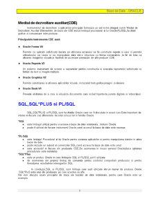 Baze de Date - Oracle - Pagina 3