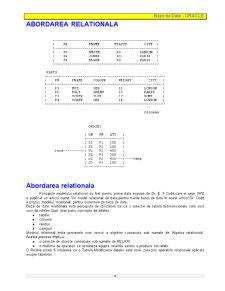 Baze de Date - Oracle - Pagina 4