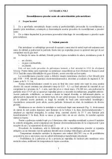 Recondiționarea pieselor uzate ale autovehiculelor prin metalizare - Pagina 2