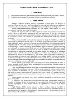 Selectarea metodei raționale de recondiționare a piesei - Pagina 2
