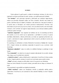 Codul de deontologie medicala-veterinara din Luxemburg - Pagina 4