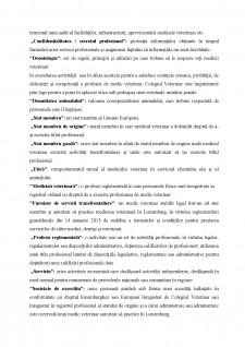 Codul de deontologie medicala-veterinara din Luxemburg - Pagina 5
