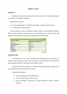 Biobutanol - Pagina 1