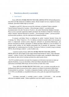 Plan de afaceri - Cabinet optometrie-oftalmologie MHTK OPTICANA - Pagina 4