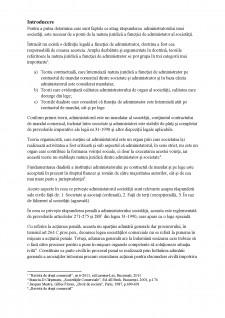 Răspunderea administratorului într-o societate - Pagina 3